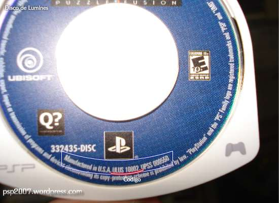 Supertutorial: Donwgradear PSP -3.50 + Instalar CustomFirmware  + Extras