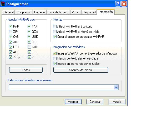 WINRAR, Manual para encontrar ISO/CSO