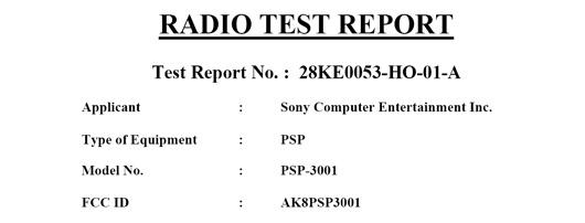Confirmado el  psp 3001 es real!!
