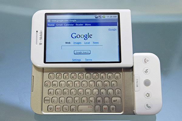 Llega G1, el primer teléfono con Google Android
