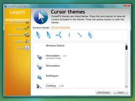 CursorFX ,personalizacion del cursor.