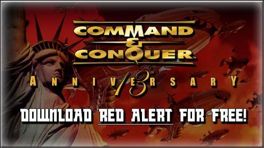 EA ofrece la descarga gratuita de Red Alert
