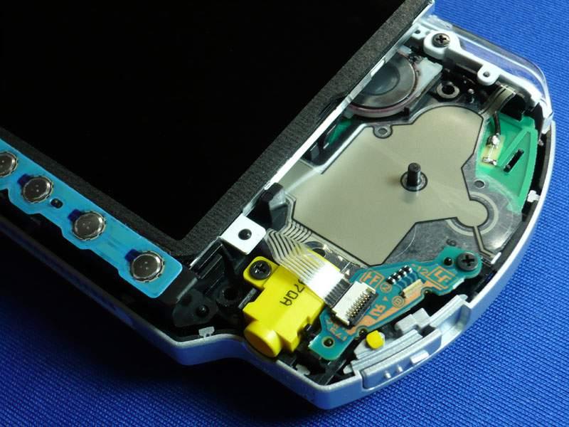Dentro de una PSP-3000