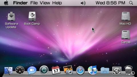 Mac OS X Leopard para PSP