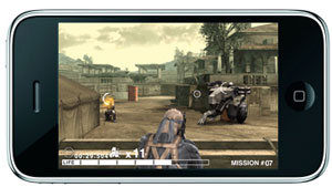 Metal Gear Solid para iPhone e iPod Touch en el 2009