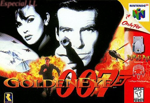 "Especial ""Golden Eye:007"""