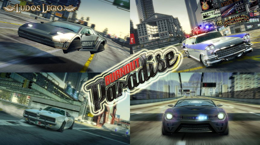 "Llegan los ""Legendary Cars"" a Burnout Paradise."