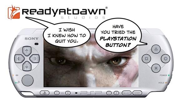 Preparan el titulo de God of War II para la PSP