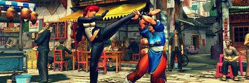 Profesionales del Taekwondo entrenan con Street Fighter IV