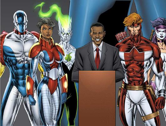 Barack Obama colecciona cómics de Spider Man