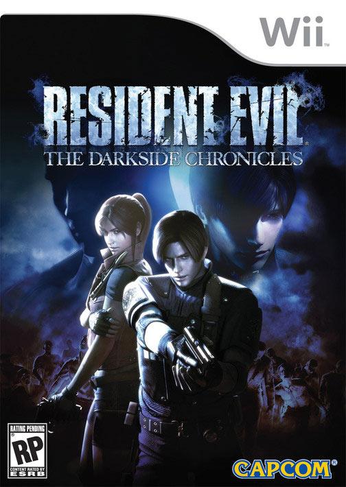 ¿Quíen será el misterioso personaje en la caratula de Resident Evil Darkside Chronicles?
