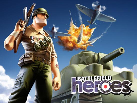 Battlefield Heroes, un juego gratuito y online de E.A.