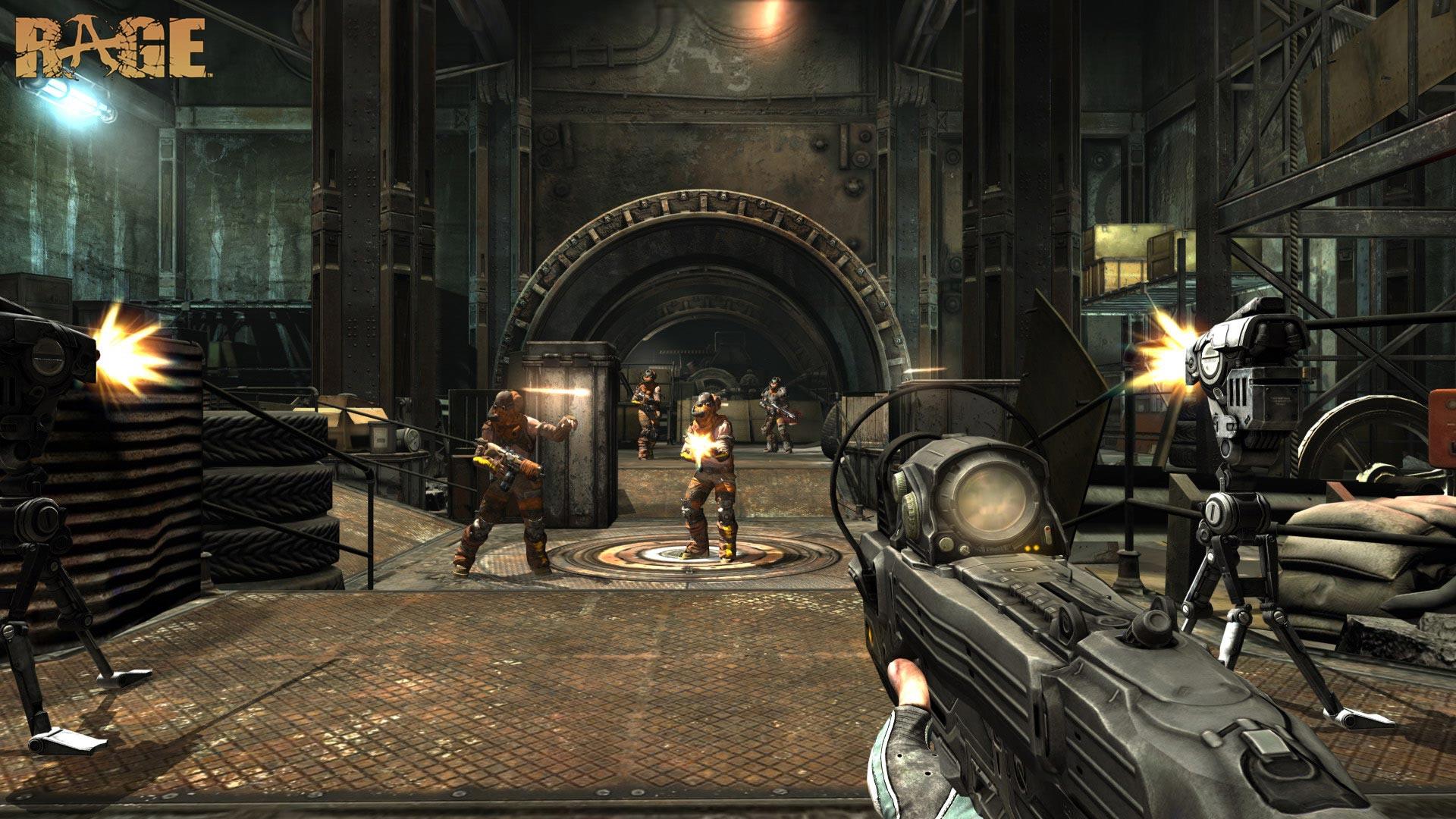 Rage, imagenes y videos sobre lo nuevo de id Software