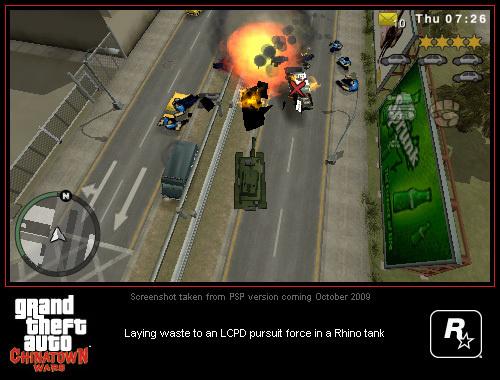 ¿Qué ha pasado con GTA: Chinatown Wars para PSP?