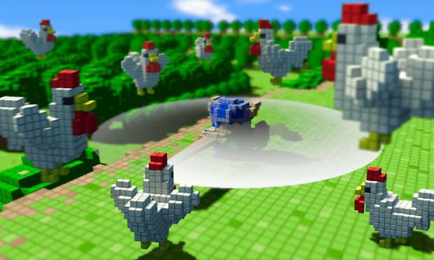 3D Dot Game Heroes podria llegar a XBOX360