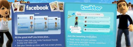 Las redes sociales serán restringidas para los menores de 18 años en el Xbox 360