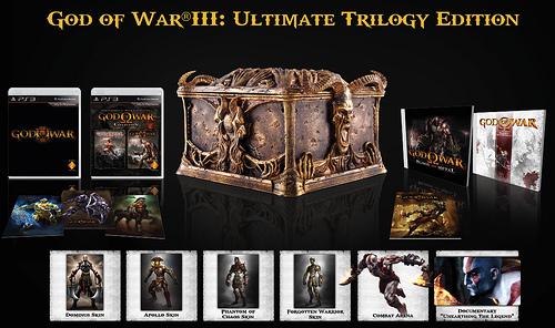 Edición especial de God of War III: Ultimate Trilogy