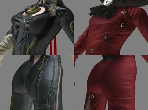 Comparando el trasero y los pechos de las chicas de Bayonetta