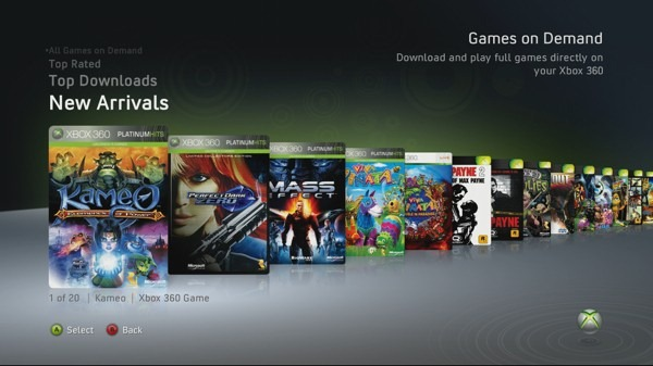 Game on Demand tambien para PC (Windows)