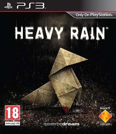 Heavy Rain, el asesino del origami muestra su primer caratula