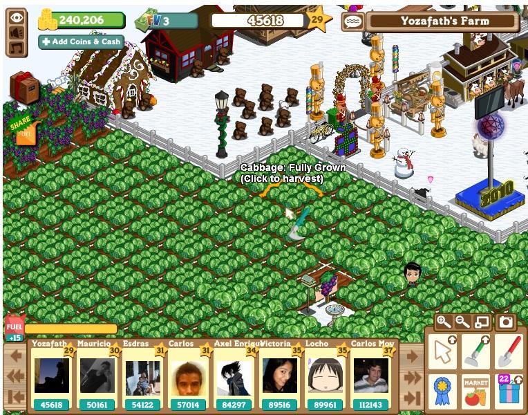 Farmville: Trafico de regalos