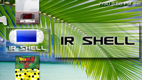 iRShell: Almacenamiento y control de la PSP desde el ordenador
