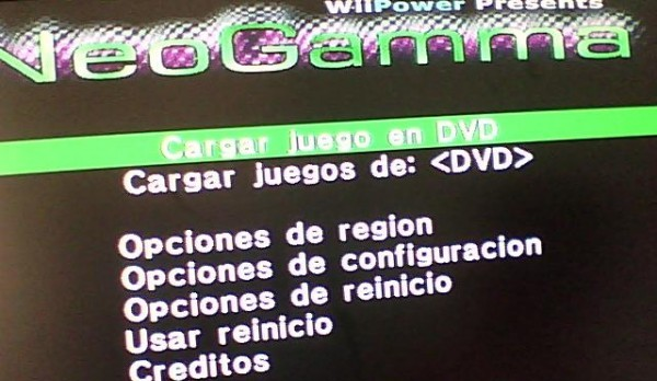 Lanzado Neogamma R8 RC3 para Wii – Cargar Backups sin modchip