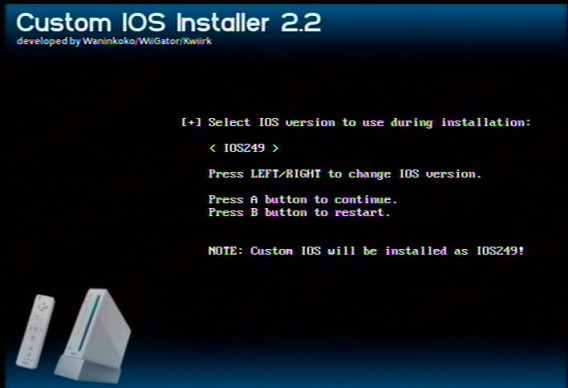 Llega el Custom IOSX rev18 para Wii
