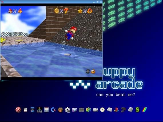 Puppy Arcade: Un sistema operativo de emuladores para clásic