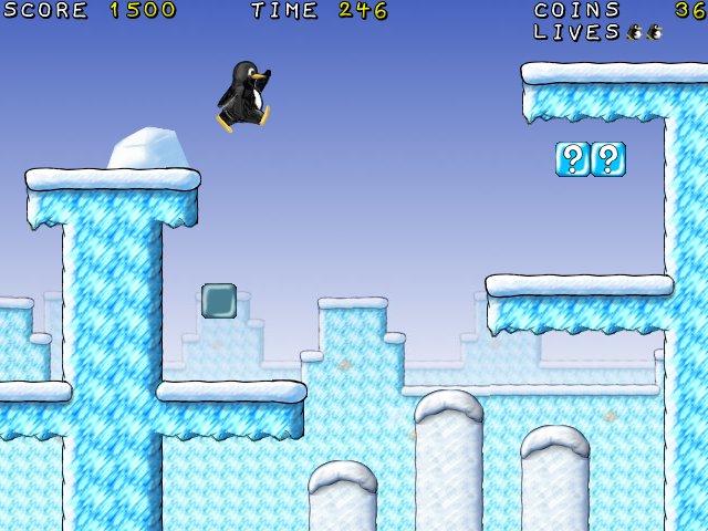 Super Tux – Mario y Tux en un juego