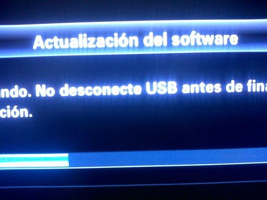 no se me actualiza el firmware de noblex tv