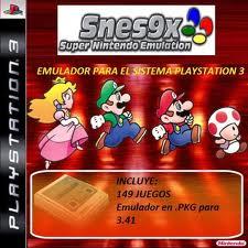 Primer emulador para PS3 3.55: Snes9x