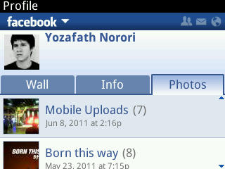 Facebook 2.0 para Blackberry, la actualización que esperabamos